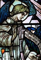Gabriel at the Annunciation (Louis Davis, 1898)