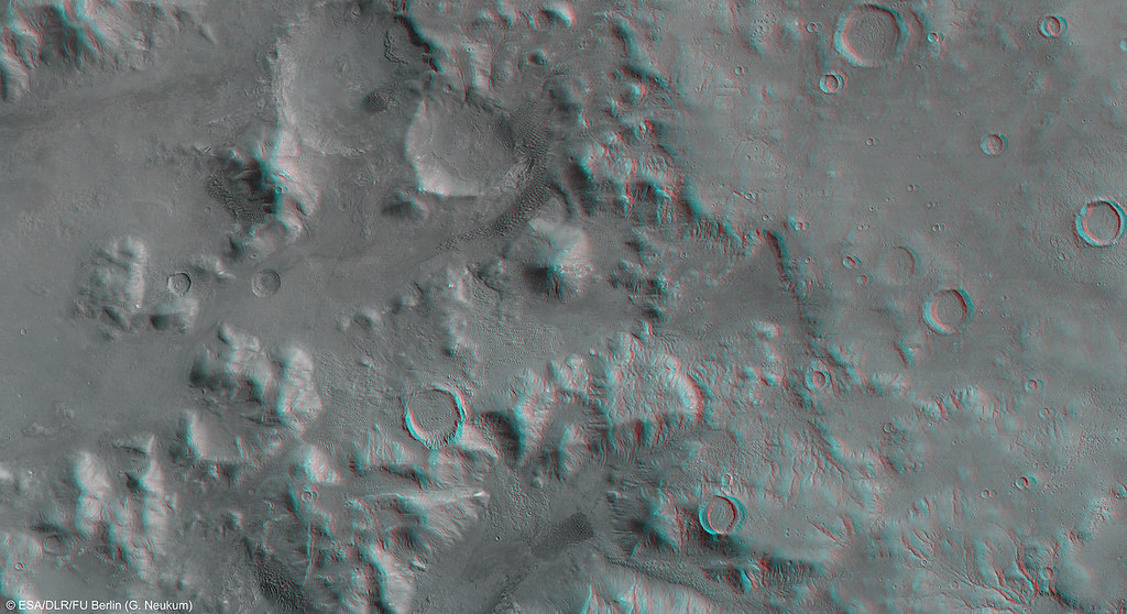 Mars in 3D: Nereidum Montes