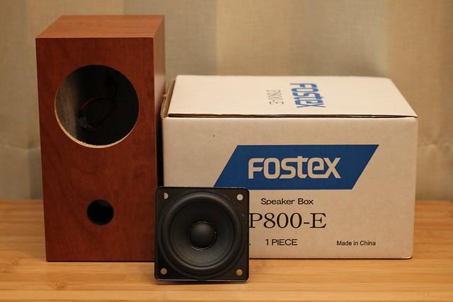 FOSTEX - DIY Speaker kets.