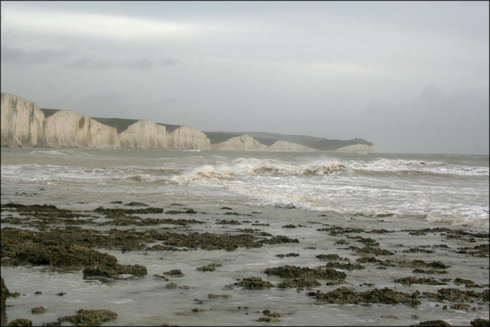 The Seven Sisters cliffs at Cuckmere Haven