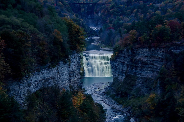 Middle Falls @ Letchworth State Park, New York