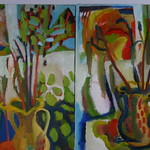 oil on canvas x 2 (each 40x60cm) both SOLD