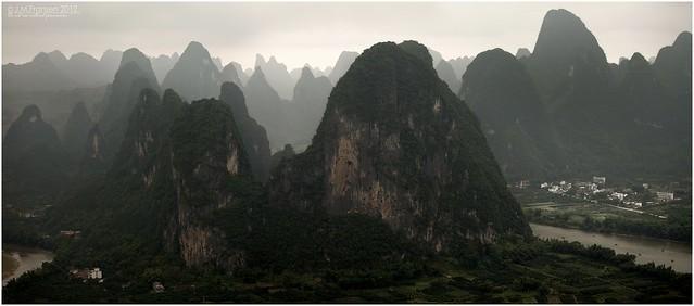 Li river mountains.