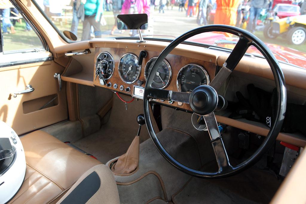 Aston Martin Db2 4 Interior Dash C1954 2 6 Litre Strai Flickr