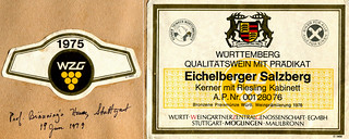 1975 - Eichelberger Salzberg (Württemberg)