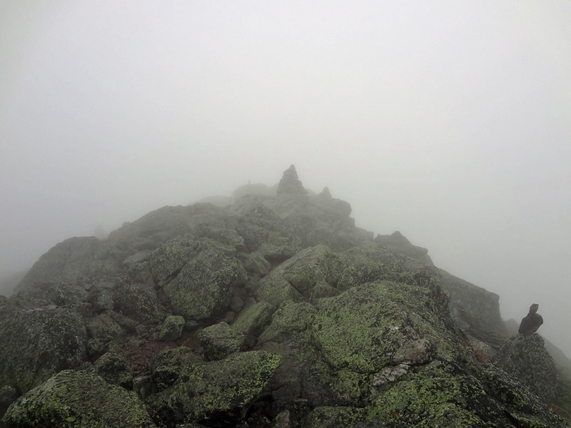 Cloudy Mt. Madison Summit