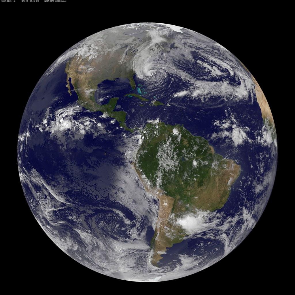 NASA Satellites See Sandy Expand as Storm Intensifies
