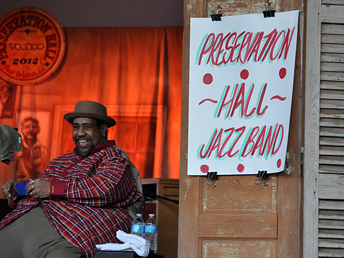 Preservation Hall Jazz Band with Big Al Carson at Voodoo 2012