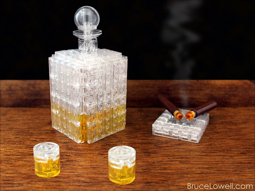 LEGO Whiskey and Cigars