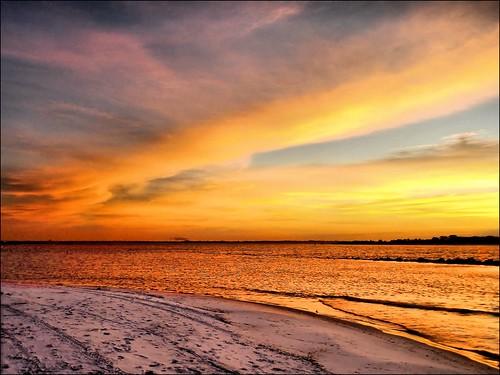 morning beach gulfofmexico sunrise sand florida newyear panamacitybeach newyearsday standrewsstatepark floridastateparks nikoncoolpixs01