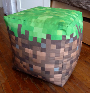 Astounding Minecraft Grass Cube Lisa Flickr Ocoug Best Dining Table And Chair Ideas Images Ocougorg