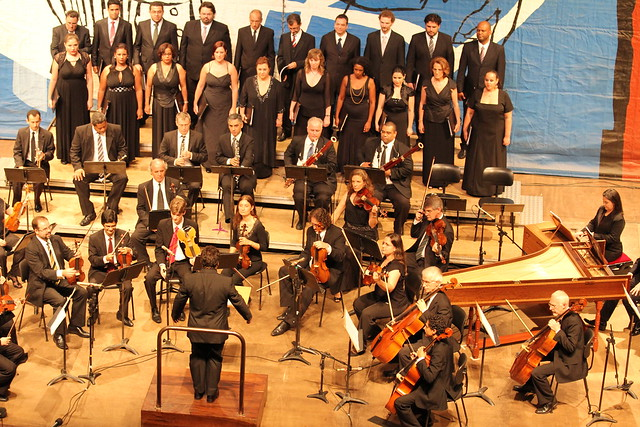 Concerto de Abertura da 31ª Oficina de Música de Curitiba.Foto : Luiz Cequinel