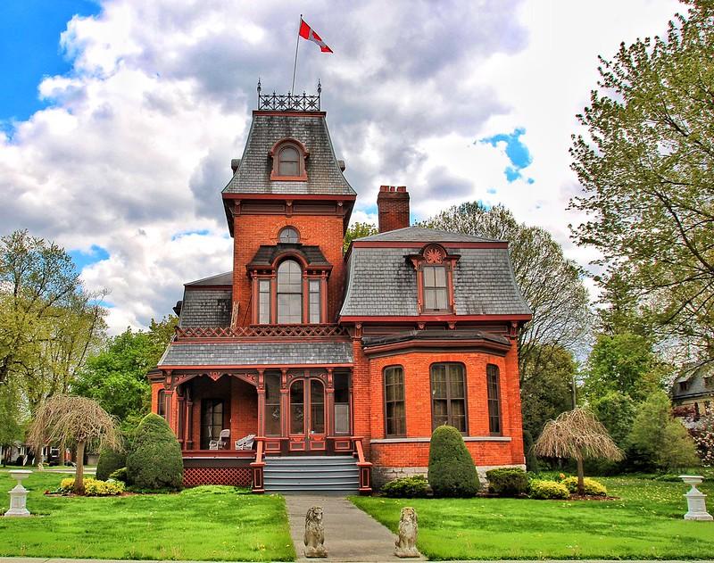 "St Mary's Ontario ~ Canada ~ Architectural Work of Art ""Lionvale"" 236 Jones St E"