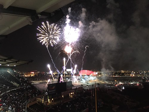 Fireworks Finale at Angel Stadium