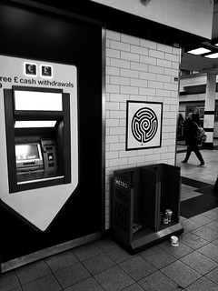 Embankment Station labyrinth