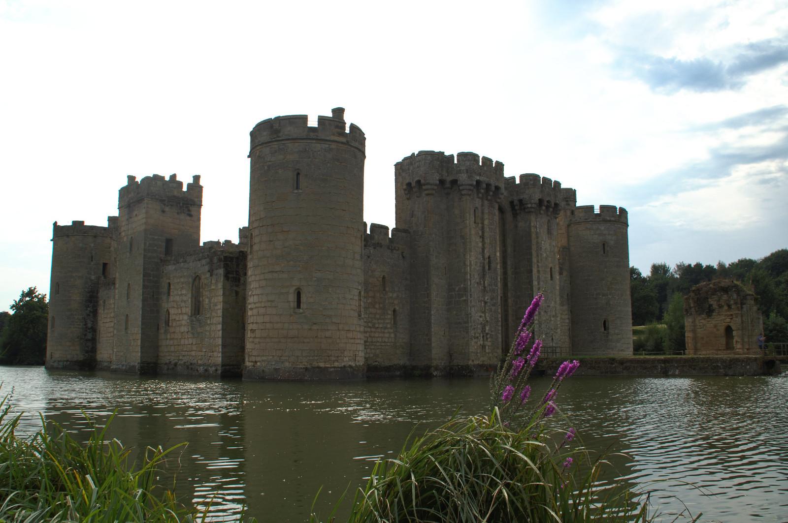 Bodiam Castle moat