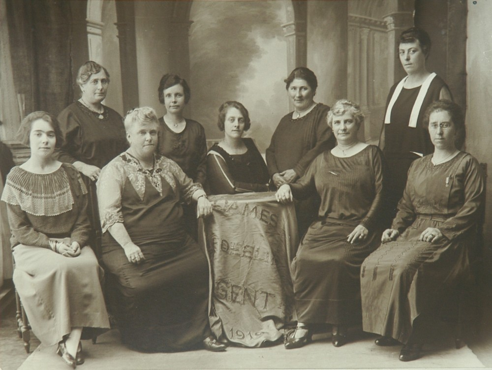 Damesafdeling - Liberale Kring Rabot en Brugse Poort, Gent, 1924 | Women's section - Liberal section Rabot and Brugse Poort, Ghent, 1924