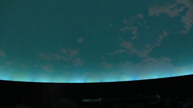 IMG_1333 Griffith Observatory planetarium initial sky display on ceiling