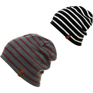 b9a6f259 The Bergen Beanie   Reversible in Blk/Wht, Red/Gray O/S 31 ...