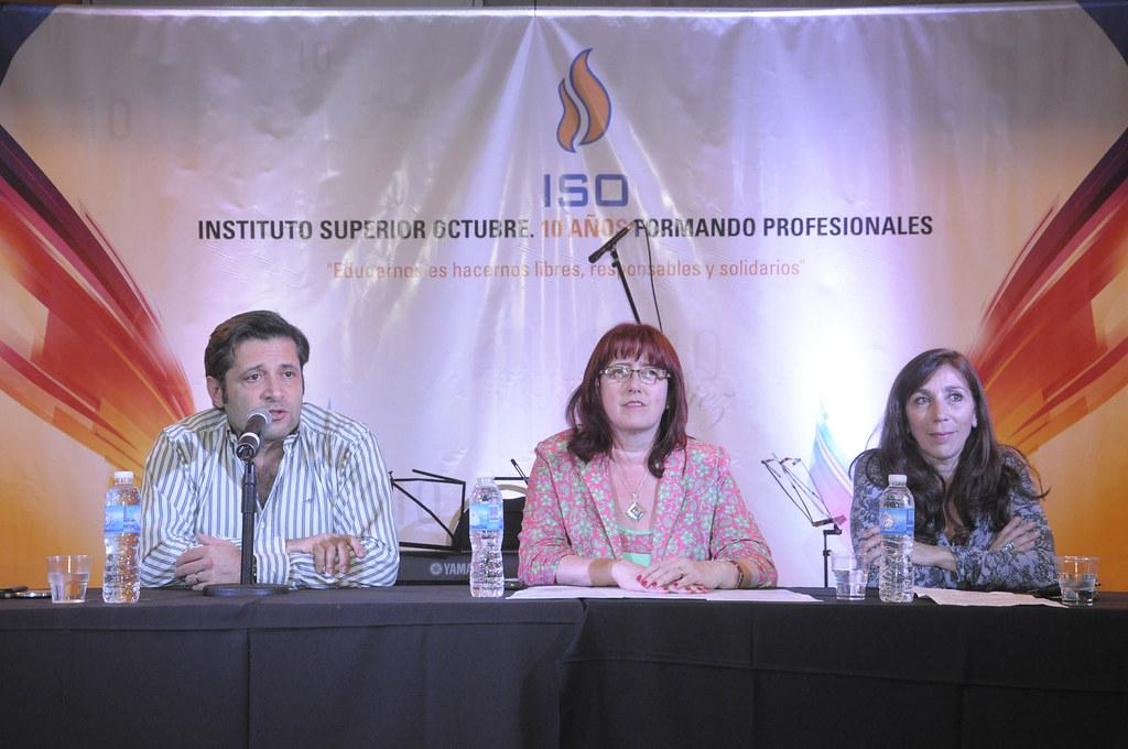 Festejos por los 10 años del ISO - Víctor Santa María