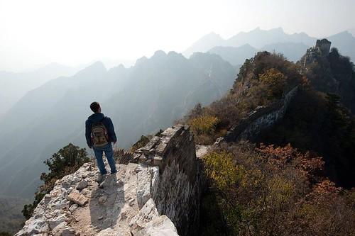 Jiankou Section, Great Wall   by raymond350