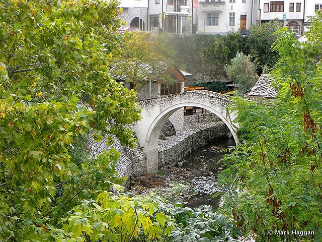 The Crooked Bridge, Mostar, Bosnia Herzegovina