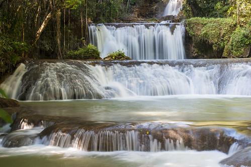 waterfall jamaica cascades ysfalls