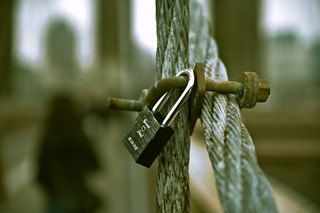 Lock your love and walk away