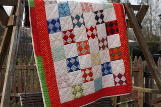 finished quilt | by artsy-crafty babe