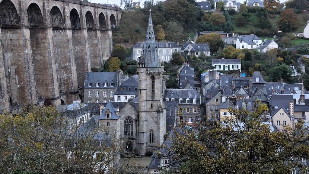 L'église Saint-Melaine de Morlaix (Bretagne - France)