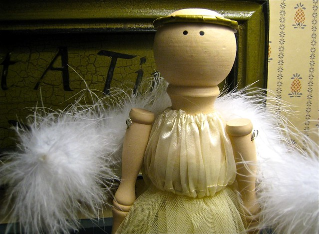 feathery angel