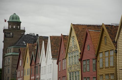 Bryggen facades   by Sean Vos