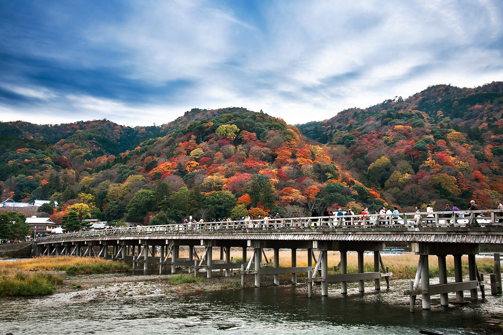 Autumn at Togetsukyo Bridge (渡月橋) | Arashiyama Kyoto Japan | Flickr