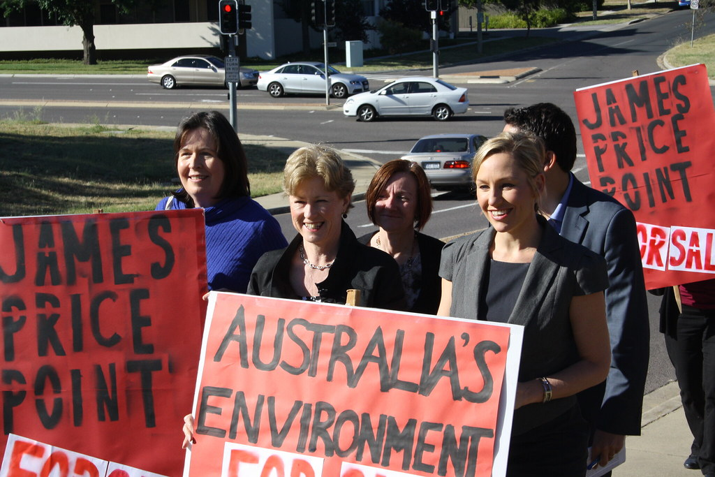 Environmental law community rally