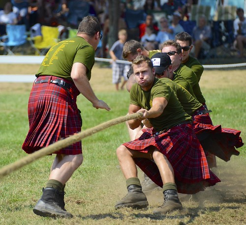 Pulling for their Regiment at the Glengarry Highland Games | by Jamie McCaffrey