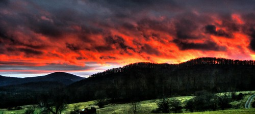 christmas winter light sunset red mountains nature clouds digital canon dark landscape fire photography eos rebel xt amazing backyard colorful vermont stormy hdr decmebr