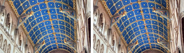 Carlisle Cathedral Ceiling in 3D