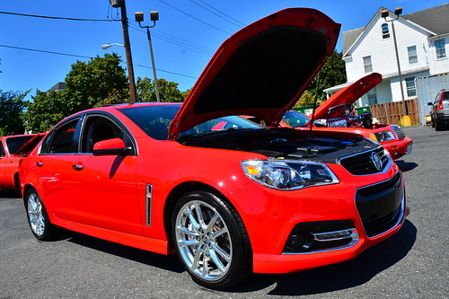Solid Red 2015 Chevy SS Photo