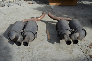Mufflers For Sale >> Oem Bmw E39 M5 Rear Mufflers For Sale From 2001 M5 Remove
