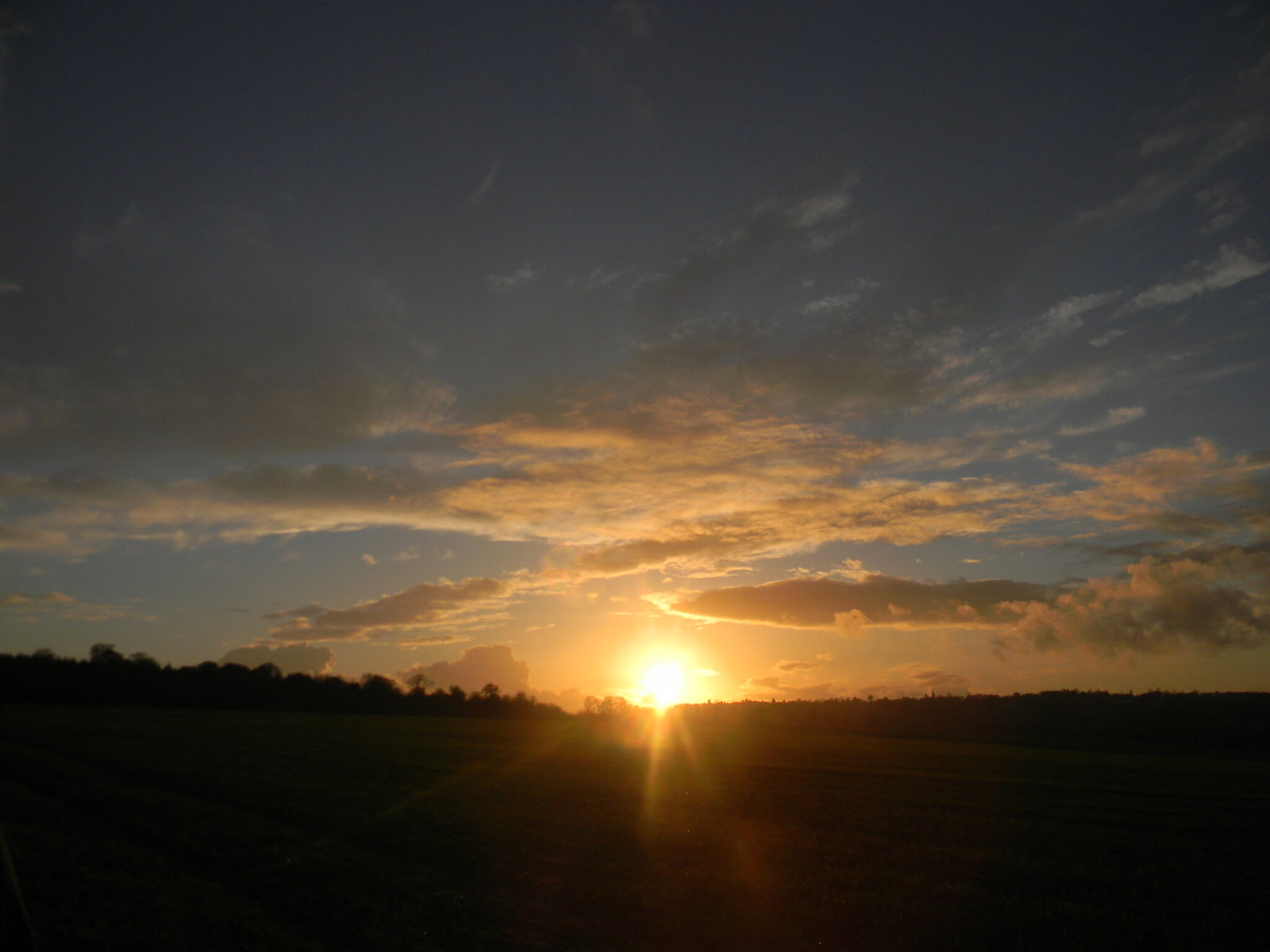 Sunset Henley Circlular via Hambleden (short)