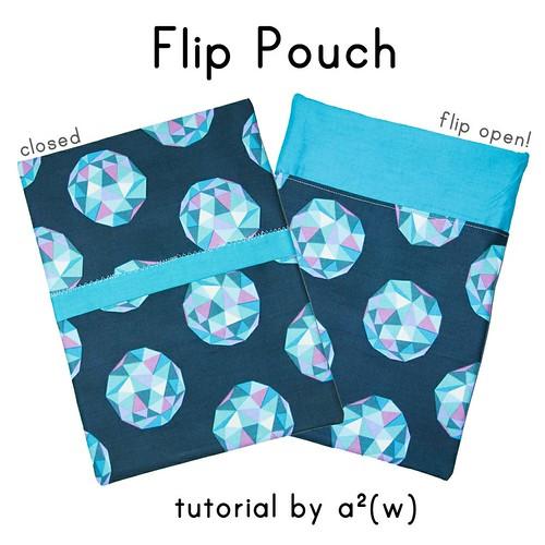 Flip Pouch Tutorial by a.squared.w | by a²(w) - asquaredw - Ali