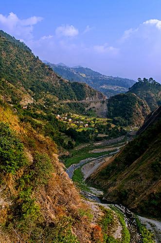 nepal rural river landscape nikon village hills opsphotos centralregion kulekhani d7000 nikon2470mm28