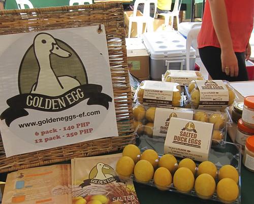 Golden Salted Duck Egg and other Gawad Kalinga Enchanted Farm products ONLY at Morning Mercato's Healthy, Organic & All-natural market... | by OURAWESOMEPLANET: PHILS #1 FOOD AND TRAVEL BLOG