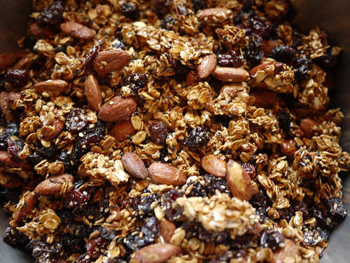 Granola - Fruit added | by grongar