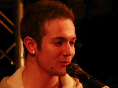 Aleks Josh – Stevenage Christmas Lights Switch-on 2012 | by Peter O'Connor aka anemoneprojectors