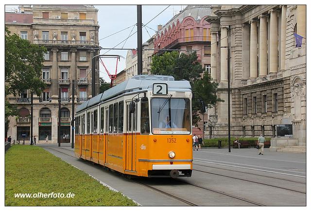 Tram Budapest - 2016-01