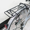 250-029 JOKER傑克單車A2403A1-淑女車24吋高碳鋼單速(含菜籃)不二價亮銀