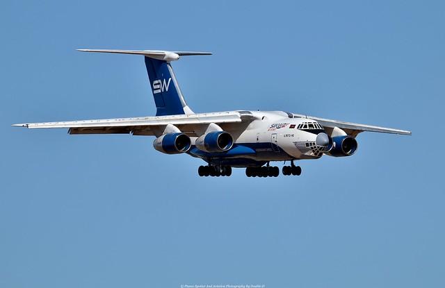 Silk Way Ilyushin Il-76TD 4K-AZ100