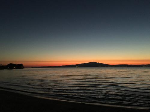 thassos thasos greece aegean summer view water sunset sonnenuntergang griechenland