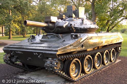 M551A1 Sheridan Tank